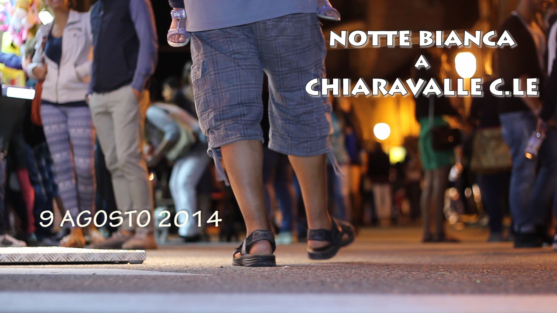 Notte Bianca Chiaravalle 2014